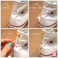 DIY Sneakers Ideas for Teenagers