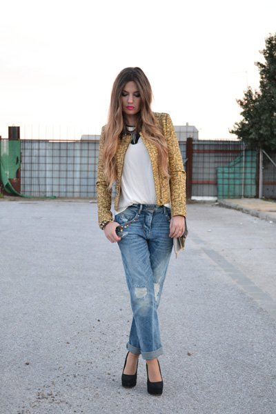 Chic Jeans Outfit for Summer