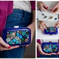 DIY Jewelry Clutch Idea
