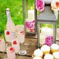 Design and drink-and-dessert table