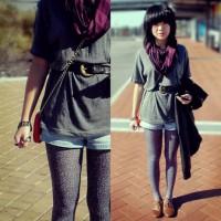 Shorts and leggings