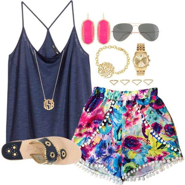 Cool Summer Outfit Idea
