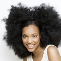 Big natural hair