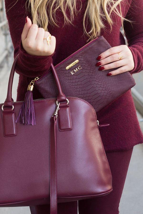 Marsala multiple purses