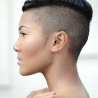 Super short Mohawk