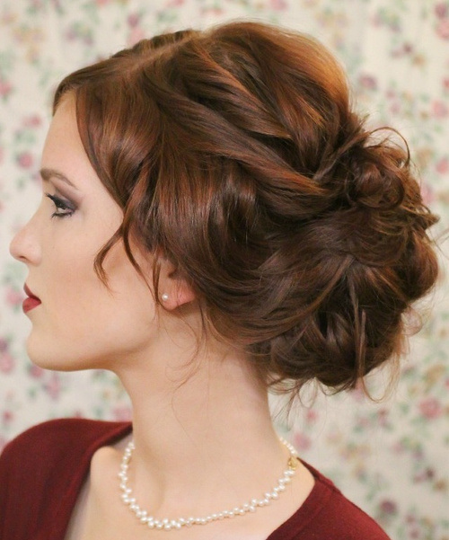 1000  ideas about Elegant Bun on Pinterest | Bun Hairstyles, Easy ...