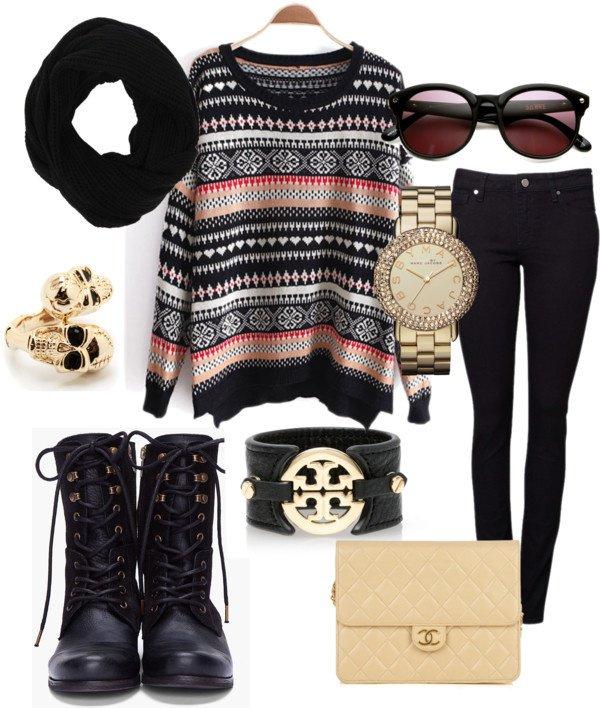 Stylish Winter Outfit Idea