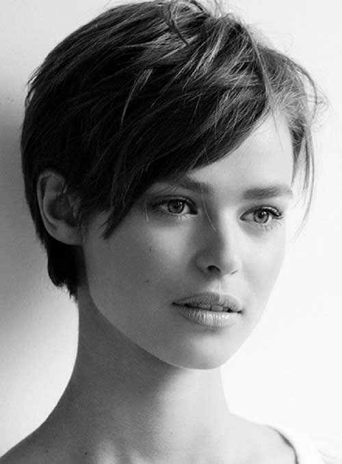 Cute Pixie Haircut for Teenage Girls