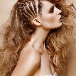 Glamorous Cornrow Hairstyles for Long Hair