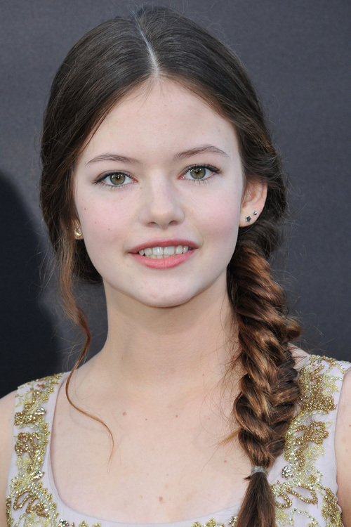 Gorgeous Side-Swept Fishtail Braid for Teenagers