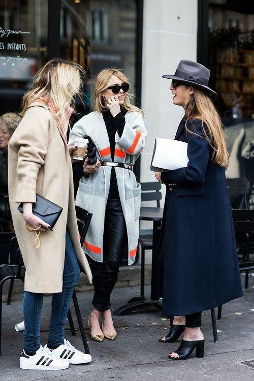 Graceful Long Coat Outfit Looks