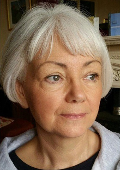 Retro Bob Haircut for Older Women