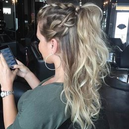 ombre-ponytail-hairstyles