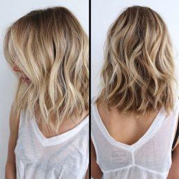 Balayage Medium Hairstyles - Balayage Hair Color Ideas for Shoulder Length Hair