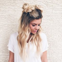 10 Super Cute Space Bun Hairstyles