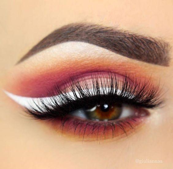 10 Ways to Wear White Eyeliner