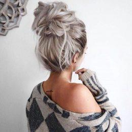 10 Wonderful Messy Bun Hairstyles