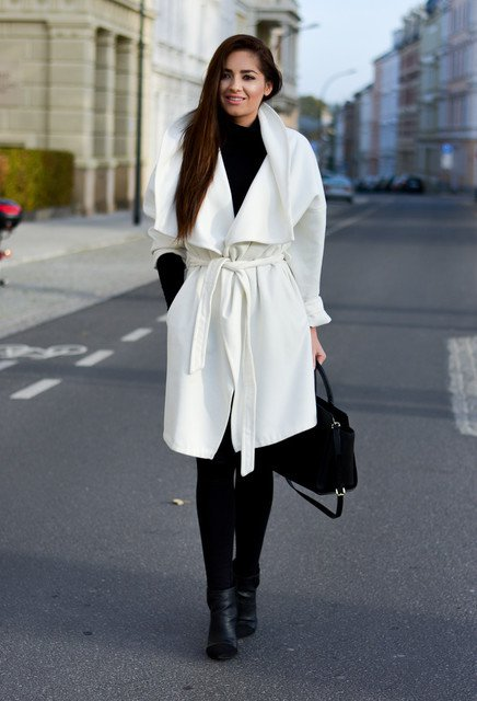 15 Timeless Black and Whilte Outfit Ideas